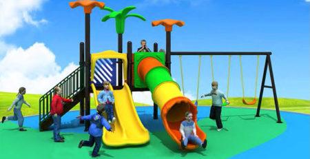 Купить детскую игровую площадку для улицы 89104 в Украине